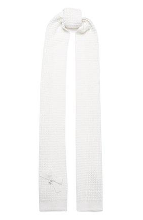 Детский шарф SIMONETTA белого цвета, арт. 1L0213/LD440 | Фото 1