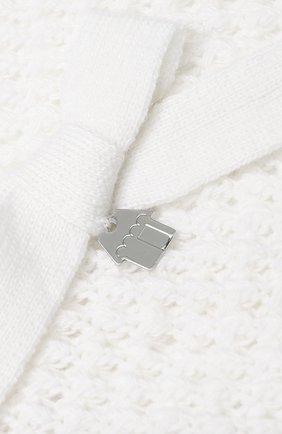 Детский шарф SIMONETTA белого цвета, арт. 1L0213/LD440 | Фото 2