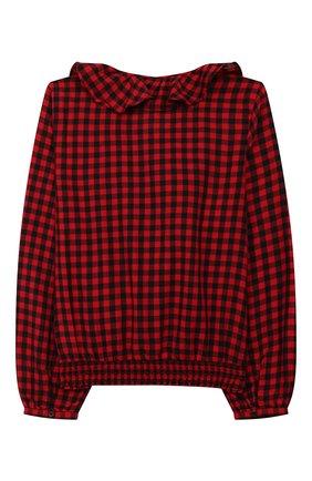 Детское хлопковая блузка POLO RALPH LAUREN разноцветного цвета, арт. 313760373 | Фото 2