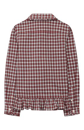 Детское хлопковая блузка POLO RALPH LAUREN разноцветного цвета, арт. 312760370 | Фото 2