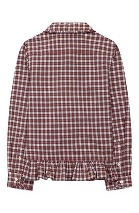 Детское хлопковая блузка POLO RALPH LAUREN разноцветного цвета, арт. 311760370 | Фото 2