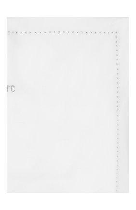 Детского хлопковая простыня TARTINE ET CHOCOLAT белого цвета, арт. TH70049 | Фото 1