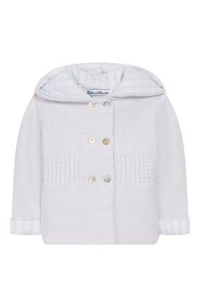 Хлопковая куртка с капюшоном | Фото №1