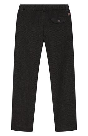 Детские хлопковые брюки TARTINE ET CHOCOLAT темно-серого цвета, арт. TP22013/4A-5A | Фото 2