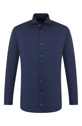 Мужская хлопковая рубашка VAN LAACK синего цвета, арт. M-PER-LSF_180031_MW-J   Фото 1