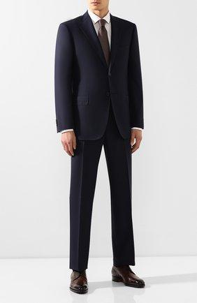 Мужской шерстяной костюм CORNELIANI синего цвета, арт. 847315L9817321/00 | Фото 1