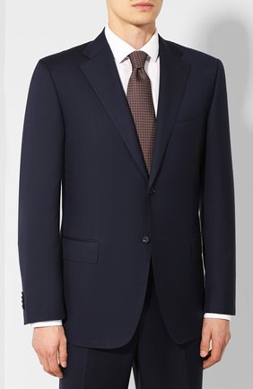 Мужской шерстяной костюм CORNELIANI синего цвета, арт. 847315L9817321/00 | Фото 2