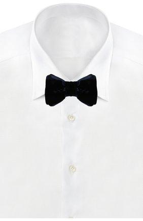 Мужской галстук-бабочка TOM FORD синего цвета, арт. 6TF01/4CH | Фото 2