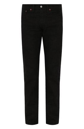 Мужские джинсы RRL черного цвета, арт. 782504838/004 | Фото 1