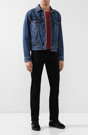 Мужские джинсы RRL черного цвета, арт. 782504838/004 | Фото 2