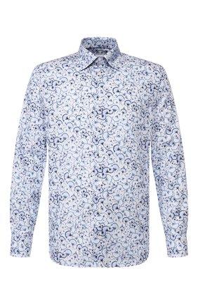 Мужская хлопковая сорочка ETON синего цвета, арт. 1000 00033   Фото 1