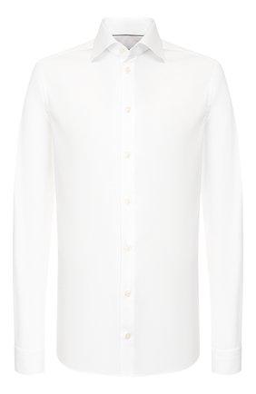 Мужская хлопковая сорочка ETON белого цвета, арт. 2567 79811   Фото 1