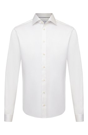 Мужская хлопковая сорочка ETON белого цвета, арт. 3000 79811 | Фото 1