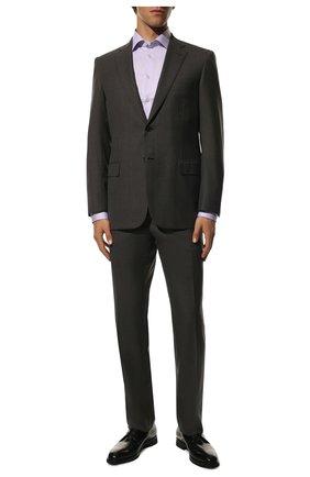 Мужская хлопковая сорочка ETON сиреневого цвета, арт. 3000 79811 | Фото 2