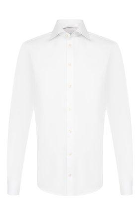 Мужская хлопковая сорочка ETON белого цвета, арт. 3000 79812 | Фото 1