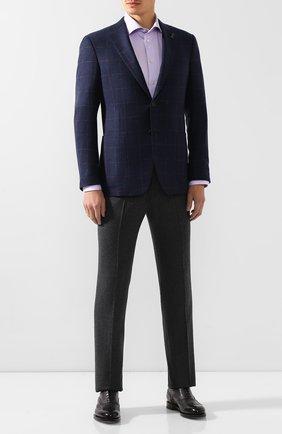 Мужская хлопковая сорочка ETON сиреневого цвета, арт. 3441 79311 | Фото 2