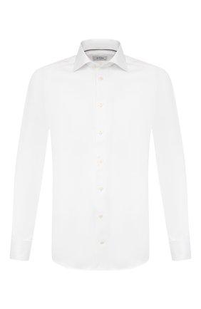 Мужская хлопковая сорочка ETON белого цвета, арт. 3441 79512 | Фото 1