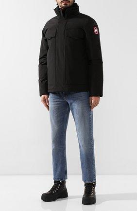 Мужская пуховая куртка forester CANADA GOOSE черного цвета, арт. 5816M | Фото 2