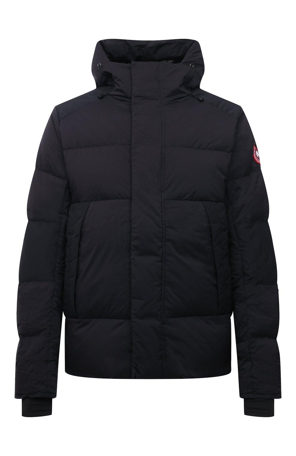 Мужская пуховая куртка armstrong CANADA GOOSE черного цвета, арт. 5076M | Фото 1