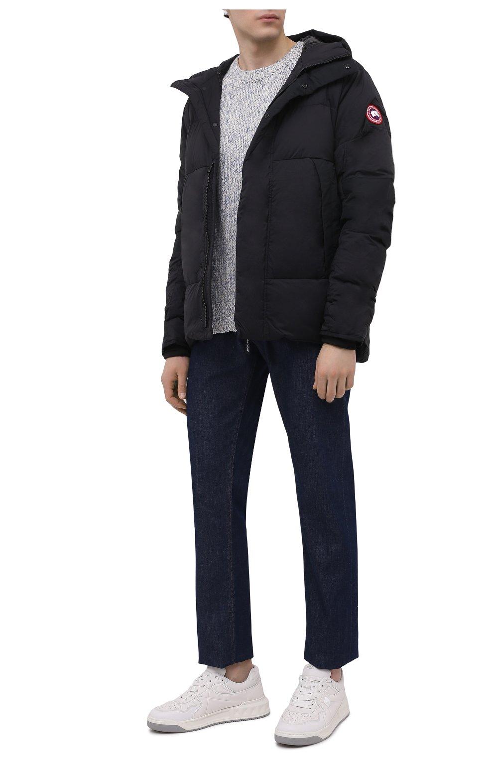 Мужская пуховая куртка armstrong CANADA GOOSE черного цвета, арт. 5076M | Фото 2
