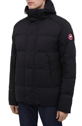 Мужская пуховая куртка armstrong CANADA GOOSE черного цвета, арт. 5076M | Фото 3