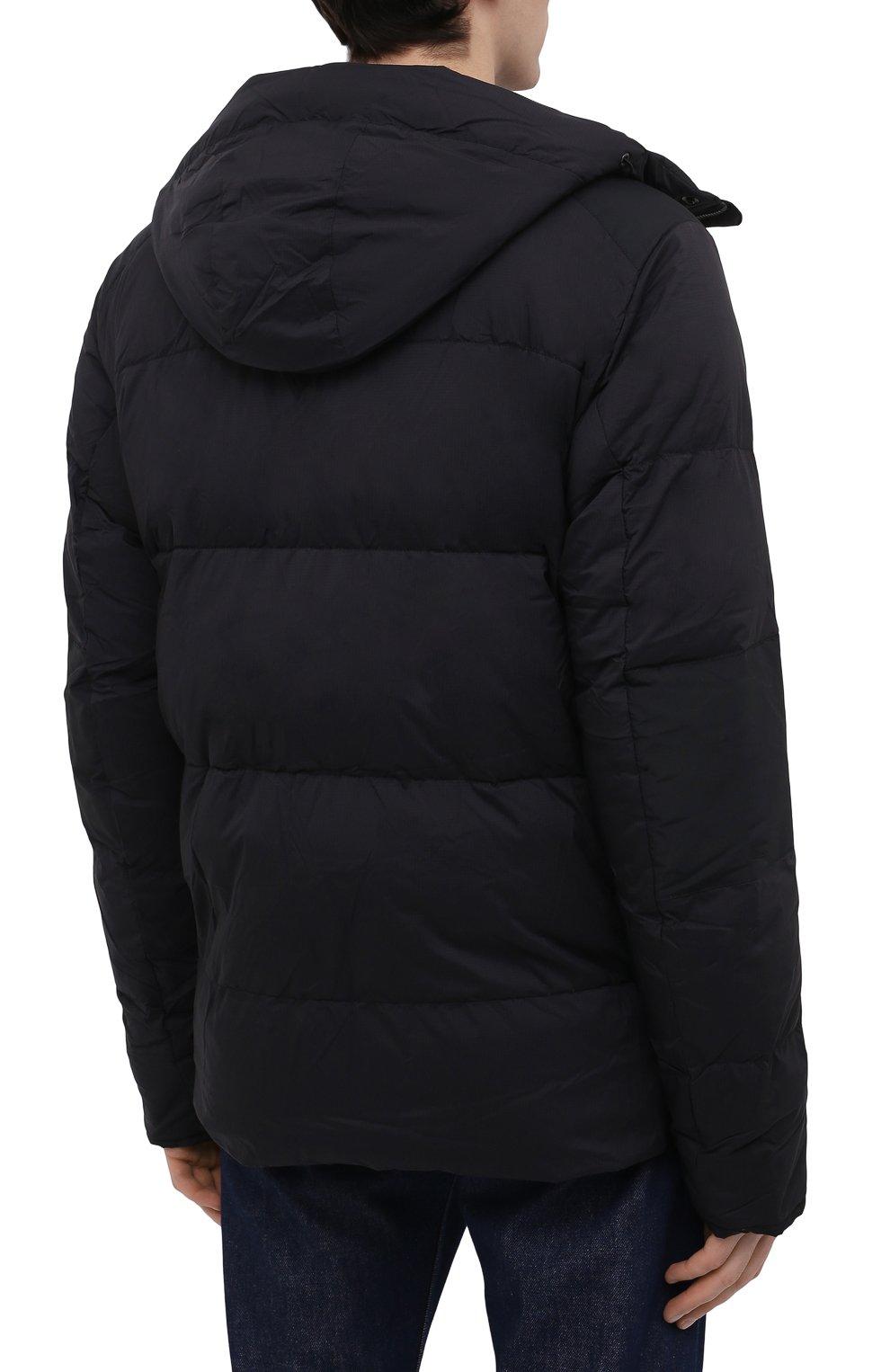 Мужская пуховая куртка armstrong CANADA GOOSE черного цвета, арт. 5076M | Фото 4