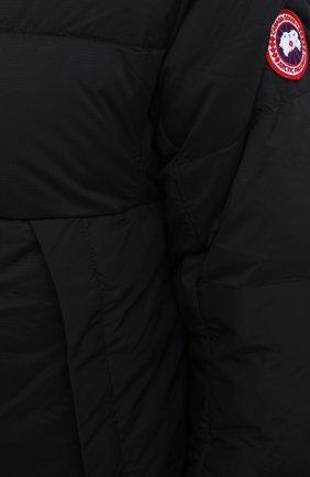 Мужская пуховая куртка armstrong CANADA GOOSE черного цвета, арт. 5076M | Фото 5