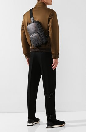 Мужской рюкзак DUNHILL темно-серого цвета, арт. DU19F3725CC | Фото 2
