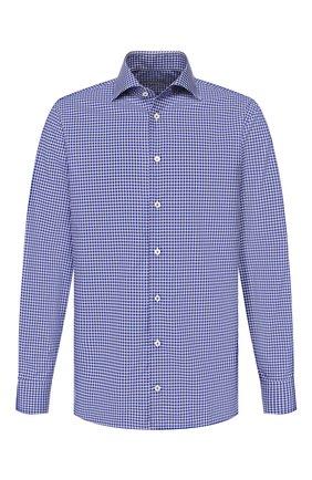 Мужская хлопковая сорочка VAN LAACK темно-синего цвета, арт. RIVARA-TFN/151504   Фото 1