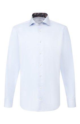 Мужская хлопковая сорочка VAN LAACK голубого цвета, арт. RIVARA-TF05/160708 | Фото 1