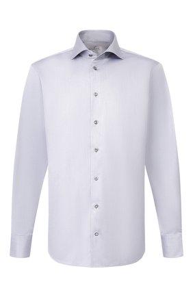 Мужская хлопковая сорочка VAN LAACK серого цвета, арт. RIVARA-TF/160708 | Фото 1