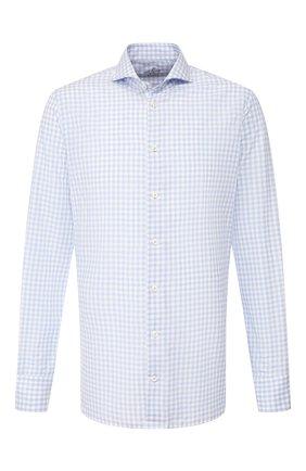 Мужская хлопковая сорочка VAN LAACK голубого цвета, арт. RES0-SF/156263 | Фото 1