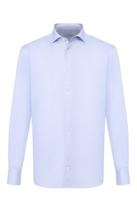 Мужская хлопковая сорочка VAN LAACK голубого цвета, арт. RAND0-TFN/150046 | Фото 1
