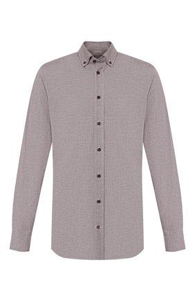 Мужская хлопковая рубашка VAN LAACK светло-коричневого цвета, арт. R0Y-SF/156381 | Фото 1