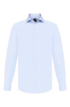 Мужская хлопковая сорочка VAN LAACK голубого цвета, арт. MIVARA-TF/163254 | Фото 1