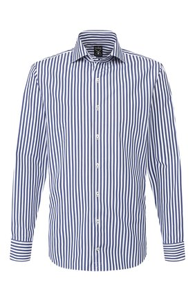 Мужская хлопковая сорочка VAN LAACK синего цвета, арт. MIVARA-SF/151740 | Фото 1