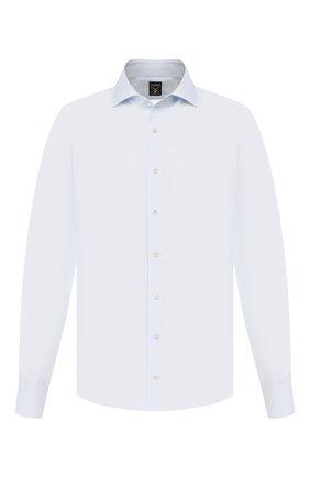 Мужская сорочка из смеси хлопка и шелка VAN LAACK голубого цвета, арт. MIVARA-LSF/151424 | Фото 1