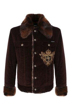 Куртка с меховой отделкой   Фото №1