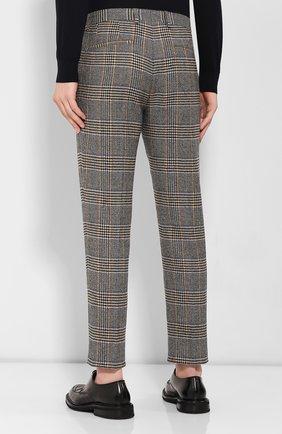 Мужские шерстяные брюки DOLCE & GABBANA бежевого цвета, арт. GY6FET/FQRA7 | Фото 4