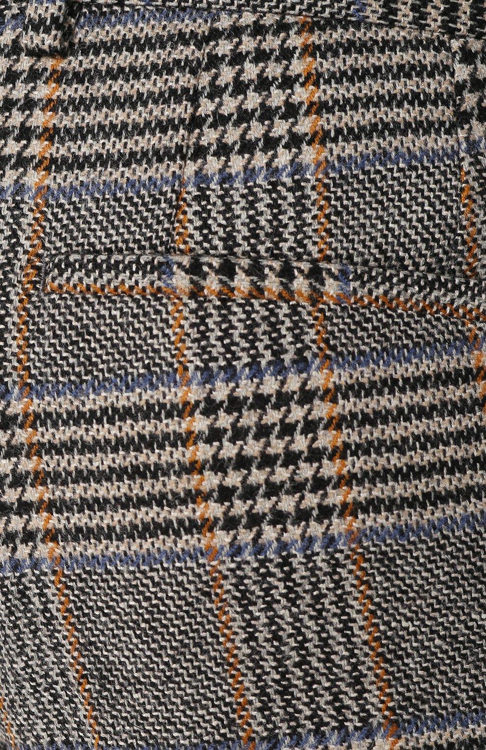 Мужские шерстяные брюки DOLCE & GABBANA бежевого цвета, арт. GY6FET/FQRA7 | Фото 5