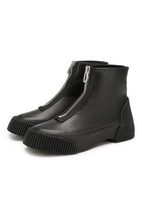 Кожаные ботинки Lela | Фото №1