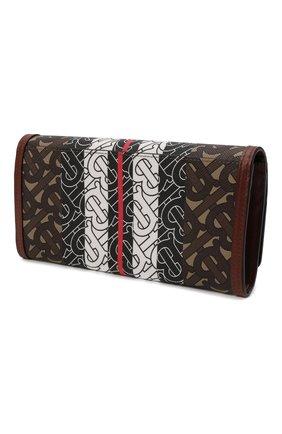 Женские кошелек BURBERRY коричневого цвета, арт. 8022012   Фото 2