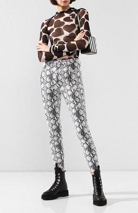 Женские джинсы с принтом FRAME DENIM разноцветного цвета, арт. AHRSKC790P | Фото 2