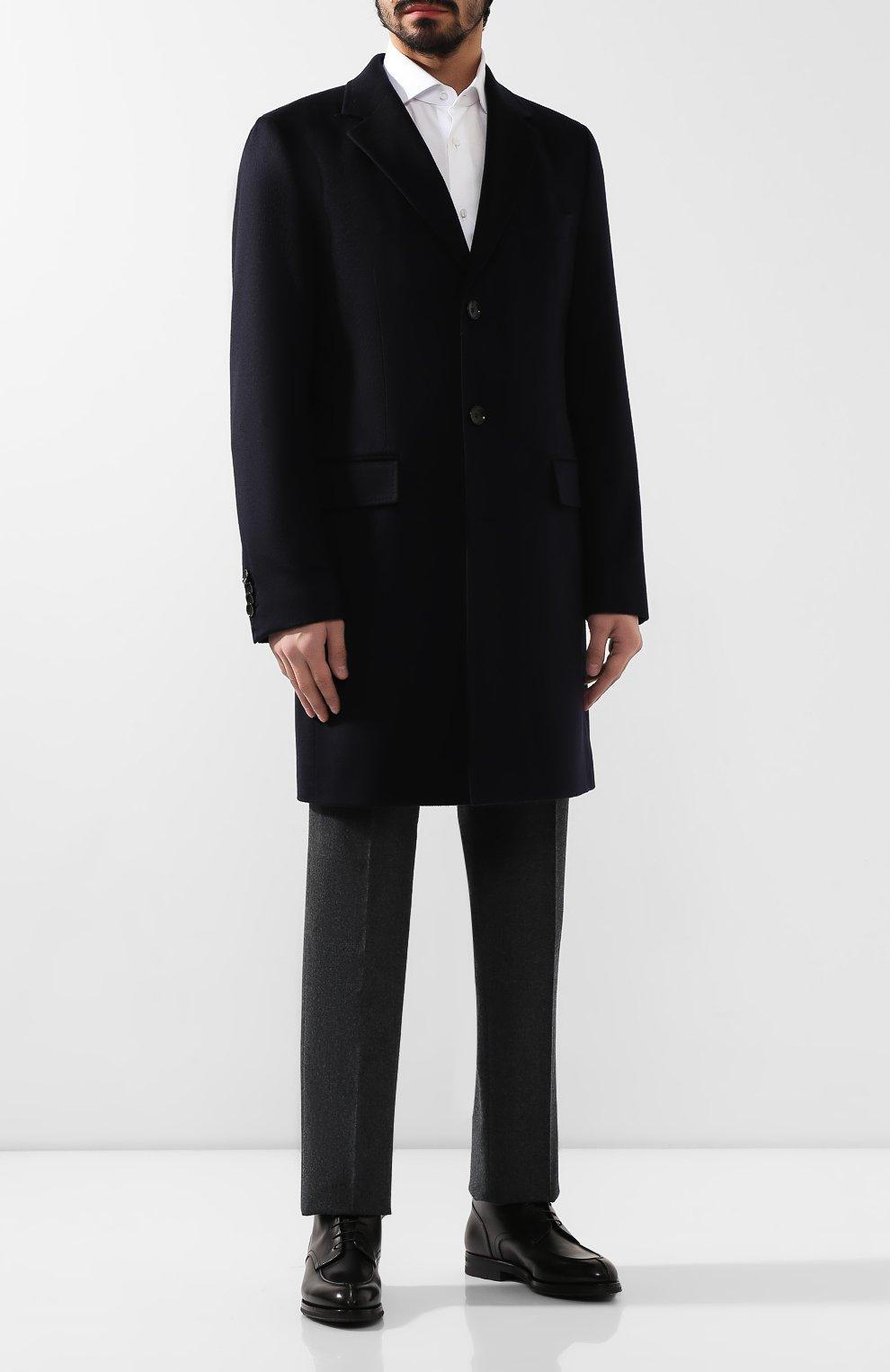 Мужские кожаные ботинки W.GIBBS черного цвета, арт. 0639006/0220 | Фото 2