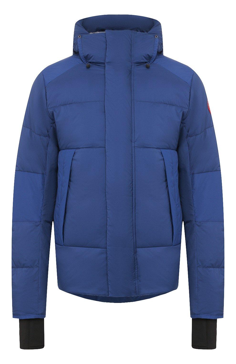 Мужская пуховая куртка armstrong CANADA GOOSE синего цвета, арт. 5076M   Фото 1