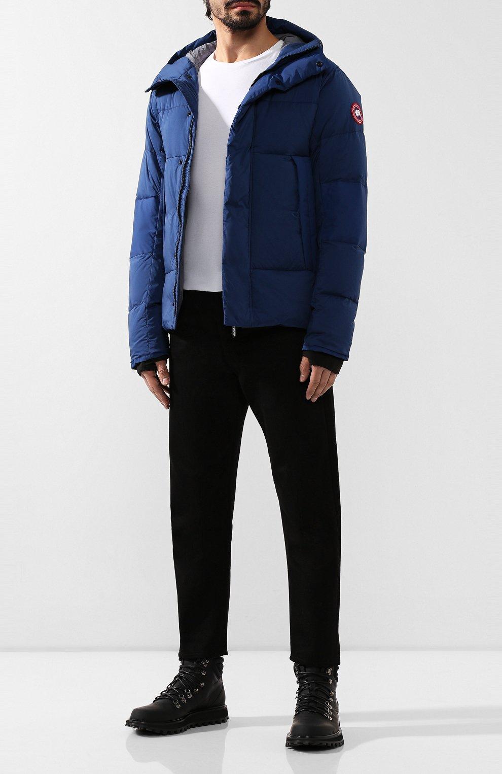 Мужская пуховая куртка armstrong CANADA GOOSE синего цвета, арт. 5076M   Фото 2