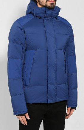 Мужская пуховая куртка armstrong CANADA GOOSE синего цвета, арт. 5076M   Фото 3