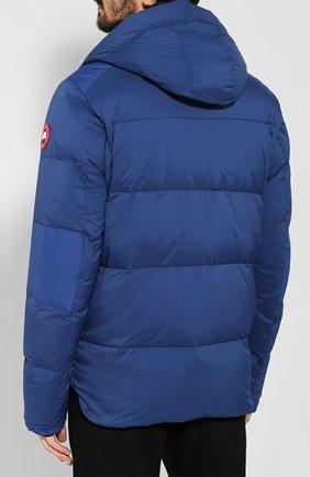 Мужская пуховая куртка armstrong CANADA GOOSE синего цвета, арт. 5076M   Фото 4