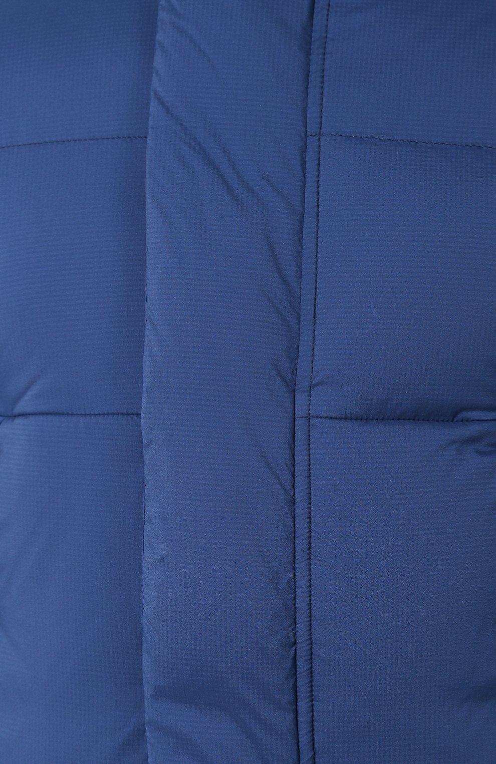 Мужская пуховая куртка armstrong CANADA GOOSE синего цвета, арт. 5076M   Фото 5