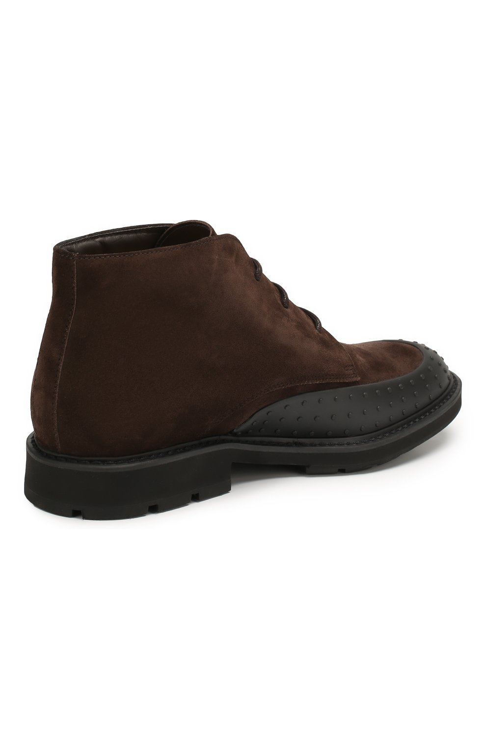 Замшевые ботинки   Фото №4